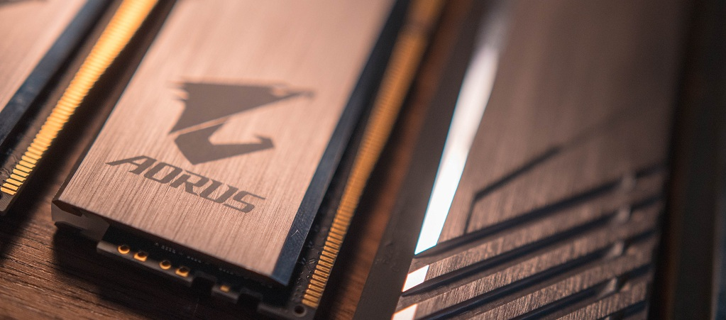 GIGABYTE Makes AORUS RGB Memory